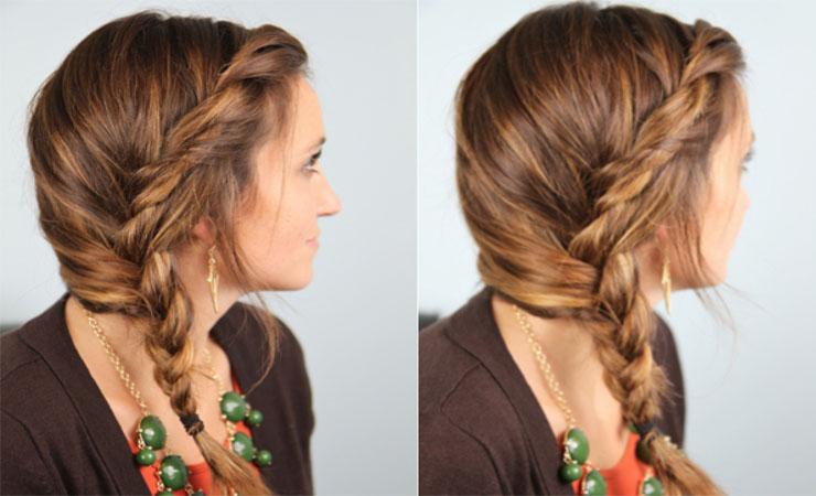Romantic Twisted Braid