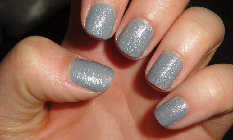 Heather Grey Nail Polish