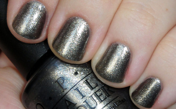 Sparkling Metallic Grey