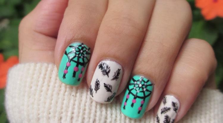 dreamcatcher-nail-design