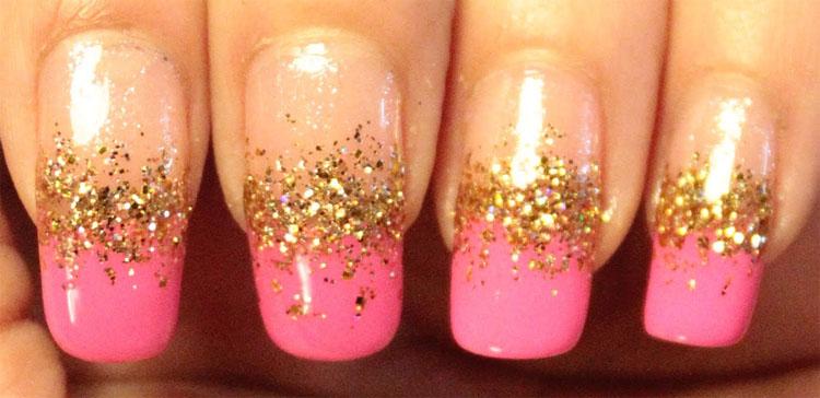 pink-nail-gold