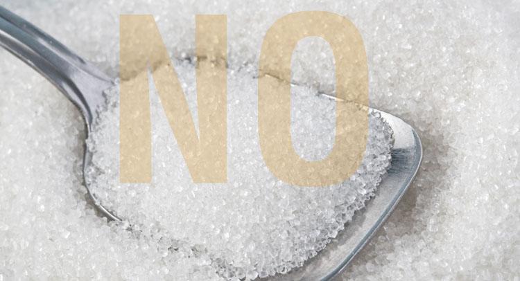 say no sugar
