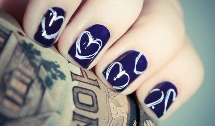 Cute Blue Hearts