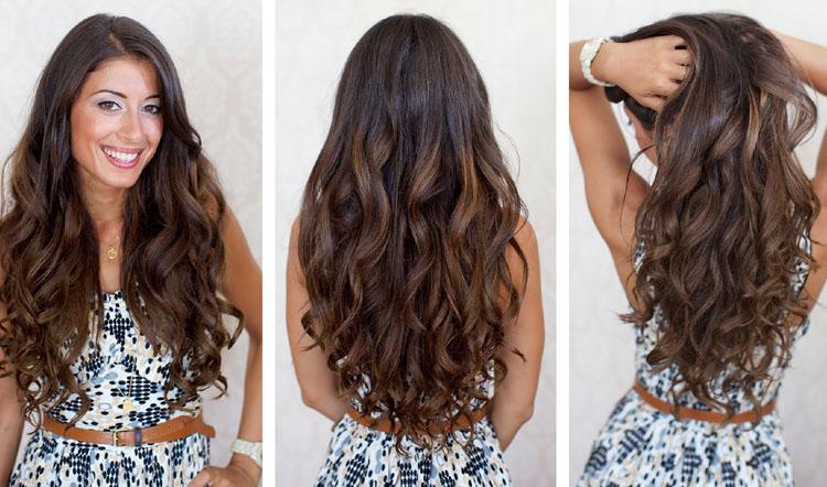 Long and Loose Hair