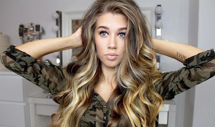 Loose Curls For Long Hair