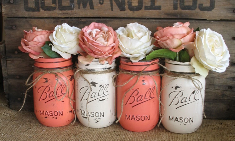 Mason Jars Country Theme