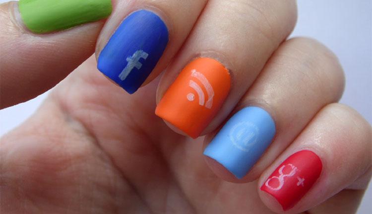 social-logo-nail-designs