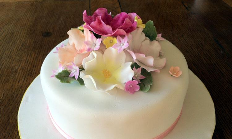 Sugar Petals Cake