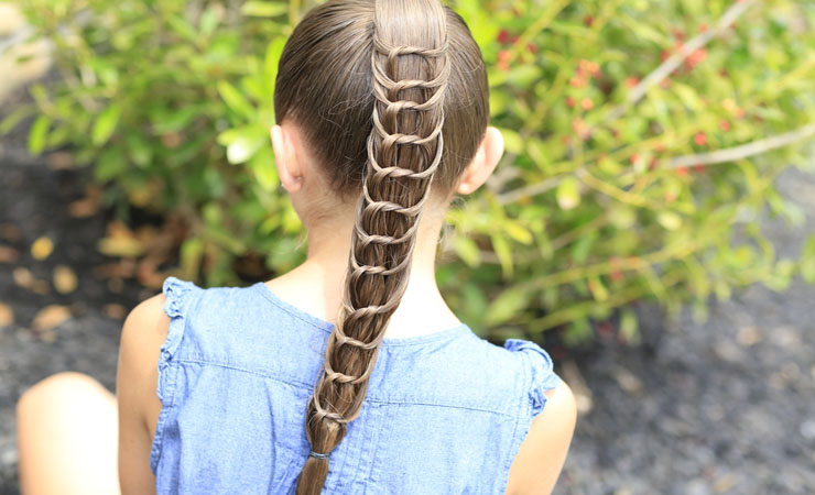 fishtail-braid-knotted-ponytail