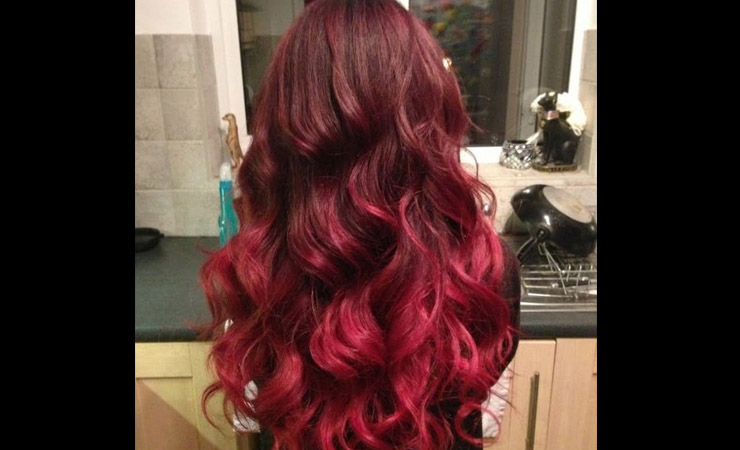 cherry-red-ombre-hair
