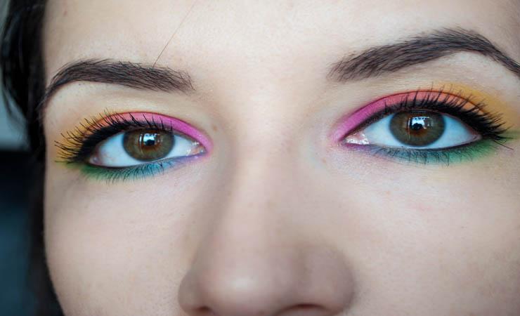 neon-rainbow-eye-makeup