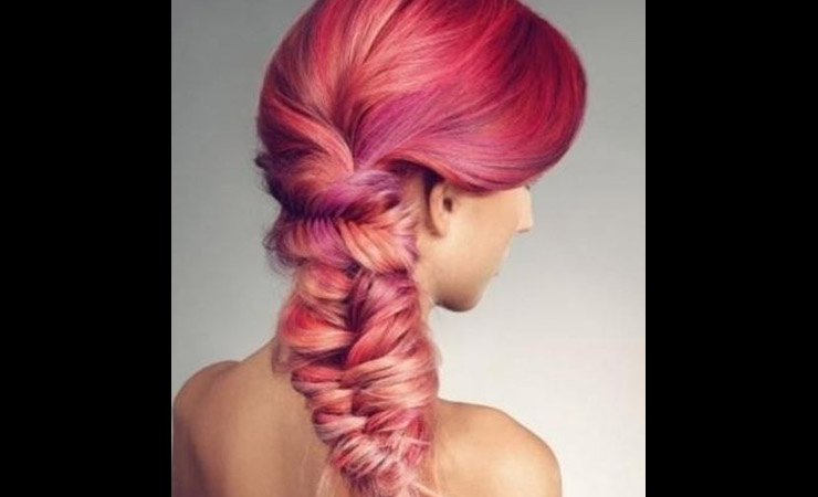 ombre-fishtail-hairstyle