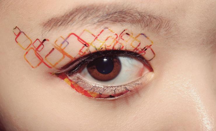 patterned-eyes