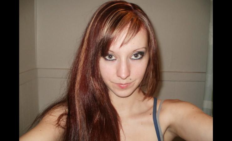 reddish-blond-streaks