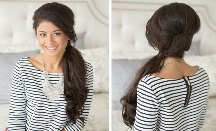 side-ponytail-with-side-part