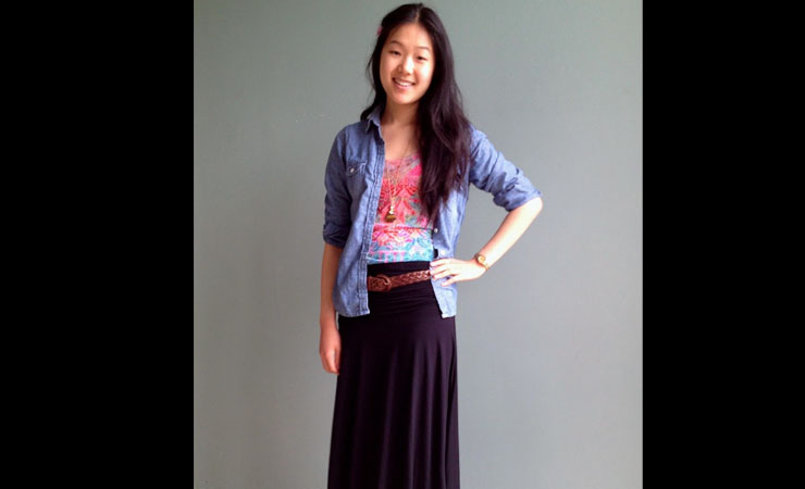 adding-skirt-to-shirt-maxi