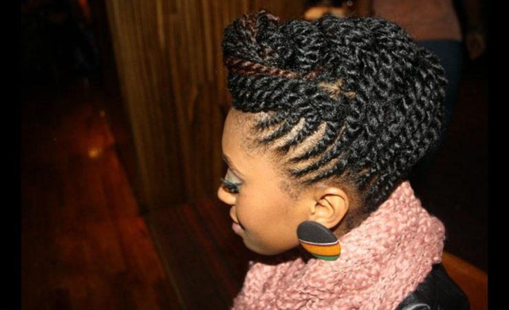 curly-two-strand-twist-halo-updo