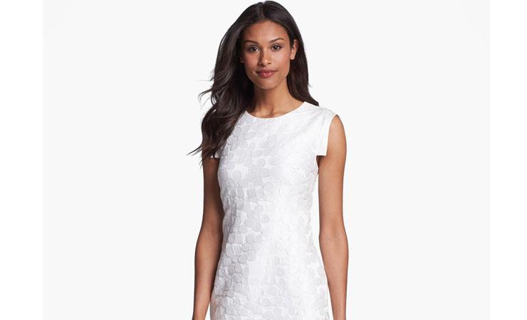 jacquard-sheath-dress