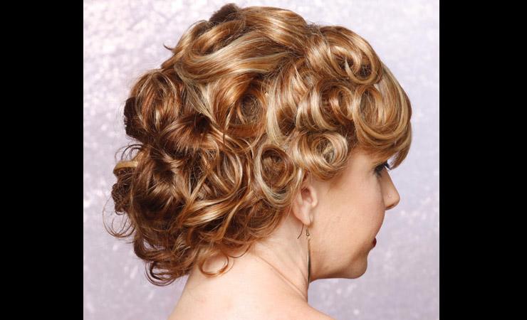 pin-curl-updo