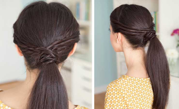 twisted-ponytail-hairstyle