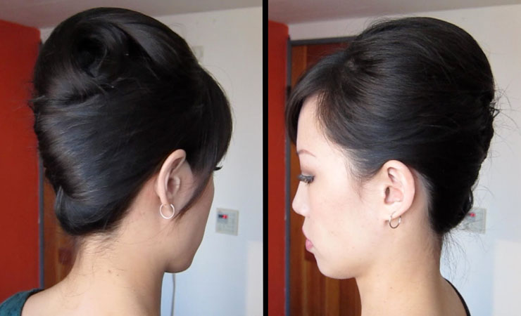 French-Twist-for-medium-Hair