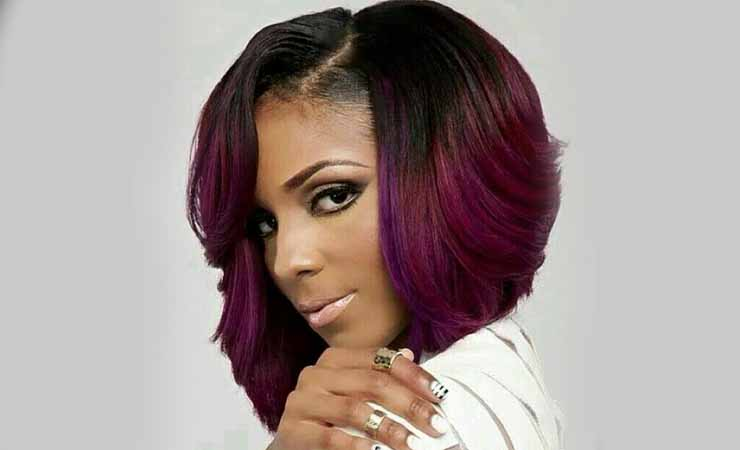 Red-And-Black-Hairstyle-For-Black-women
