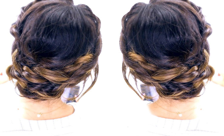 Romantic-Braided-Updo