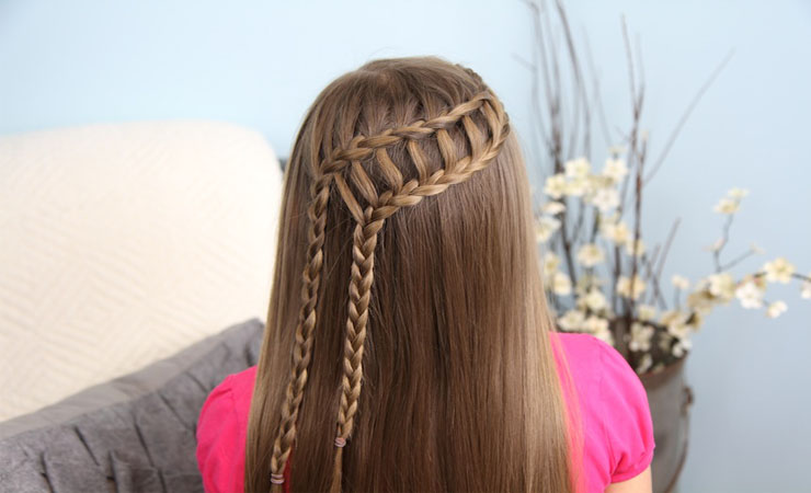 SIDE BRAIDED PONYTAIL COMBO