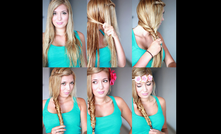 Side-Fishtail-with-Bangs-Twisted-Up