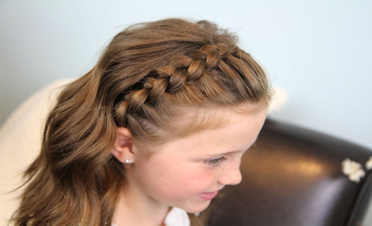SIMPLE HEAD BAND BRAID