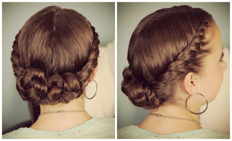 Tight-Back-Twist-Updo-for-Medium-Hair