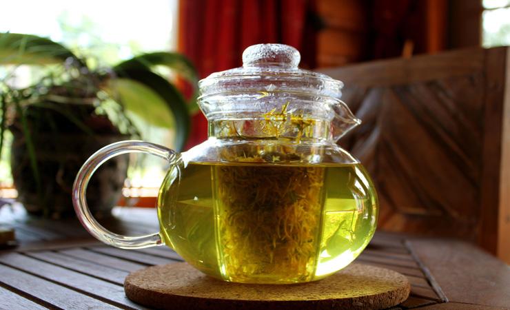 Dandelion-Leaves-Tea