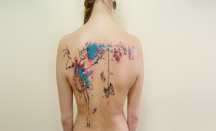 Watercolor-Tattoos-Tattooing