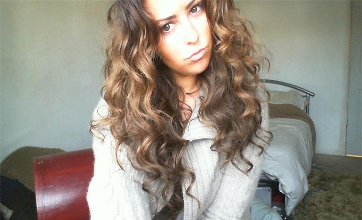 Wavy Hair Curls