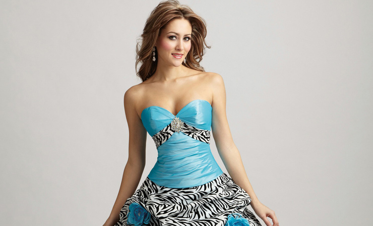 Zebra-Print-Wedding-Dress