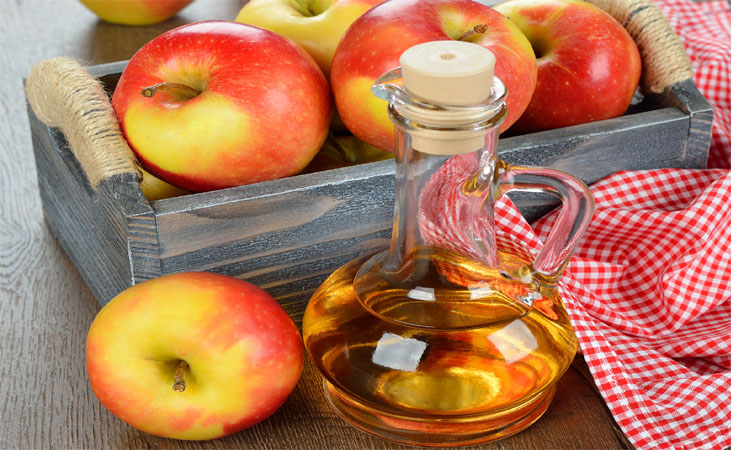 apple cider vinegar...3