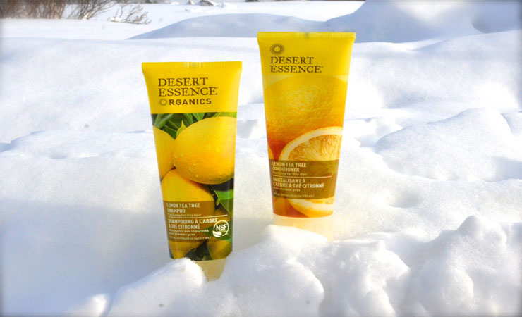 DESSERT ESSENCE ORGANICS LEMON TEA TREE