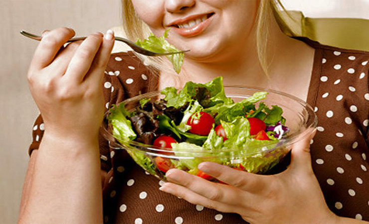 Eat light weight food