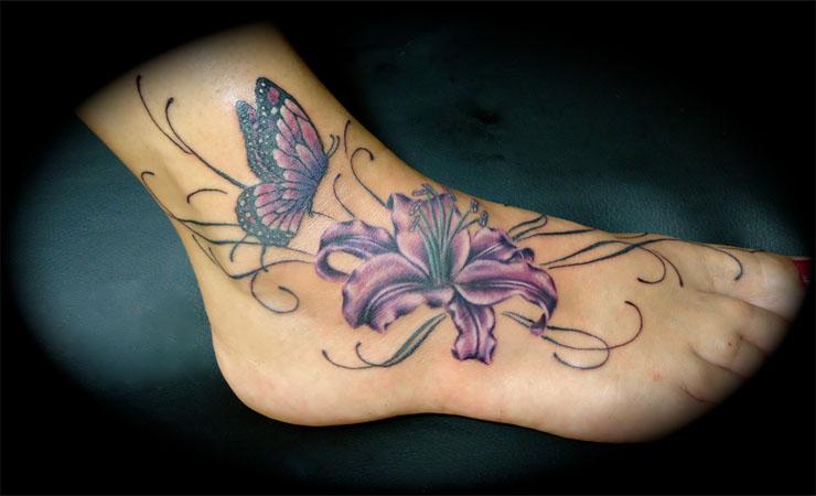 lilies tatoo