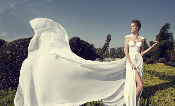 Airily Romantic Cap Sleeve Trumpet Lace Plus Size Wedding Dress