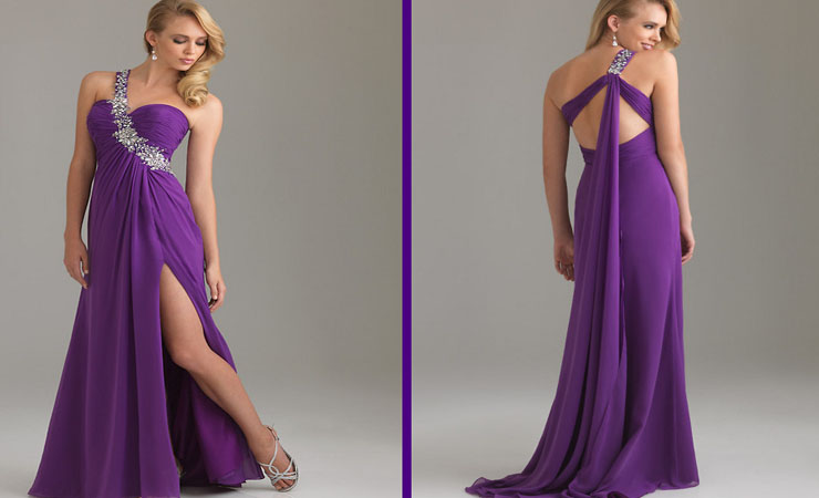 Captivating Crystal Tonal Purple Quinceanera Dress