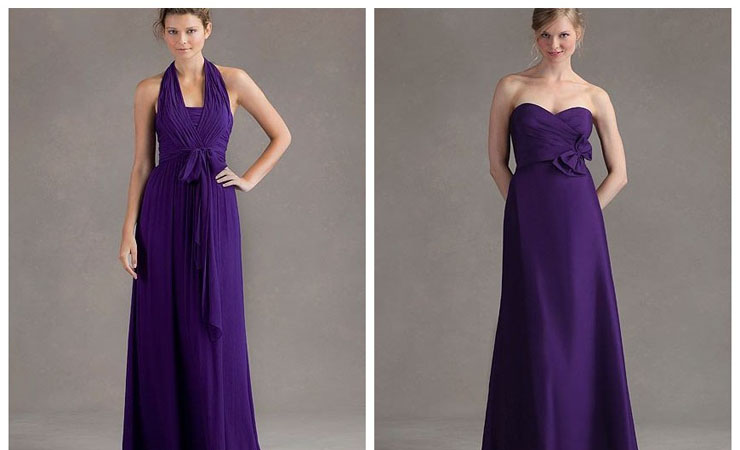 Embroidered Decadence Ruffle Purple Quinceanera Dress
