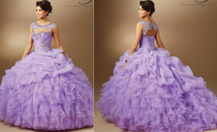 Fashionable Sweetheart Cheap Quinceanera Dress with Sequined Top
