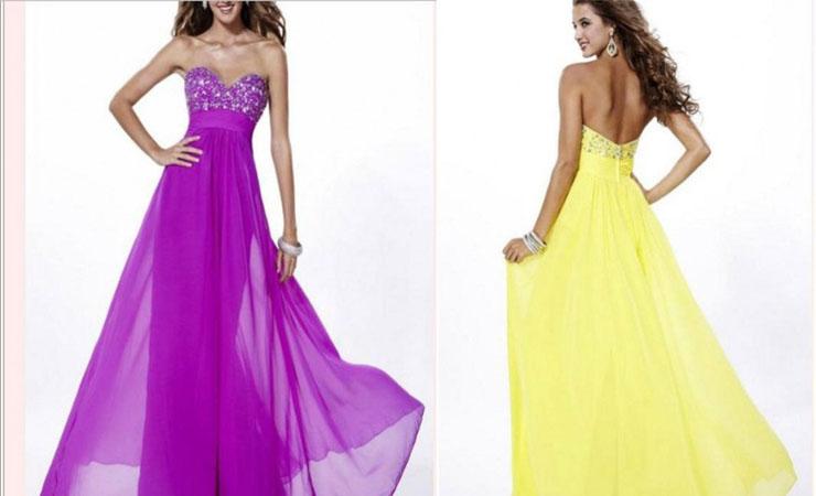 Graceful A-Line Strapless Floor-Length Cheap Quinceanera Dress