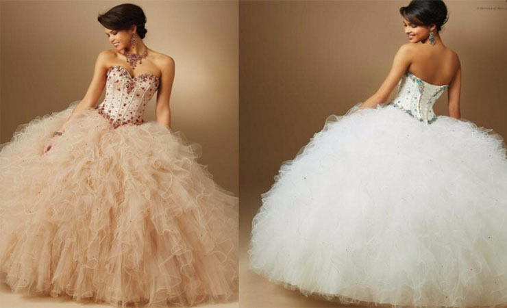Grand Ruffled Cheap Quinceanera Dress with Short Sleeves and Jacket
