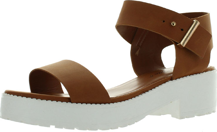 Levity Snap Wedge Sandal