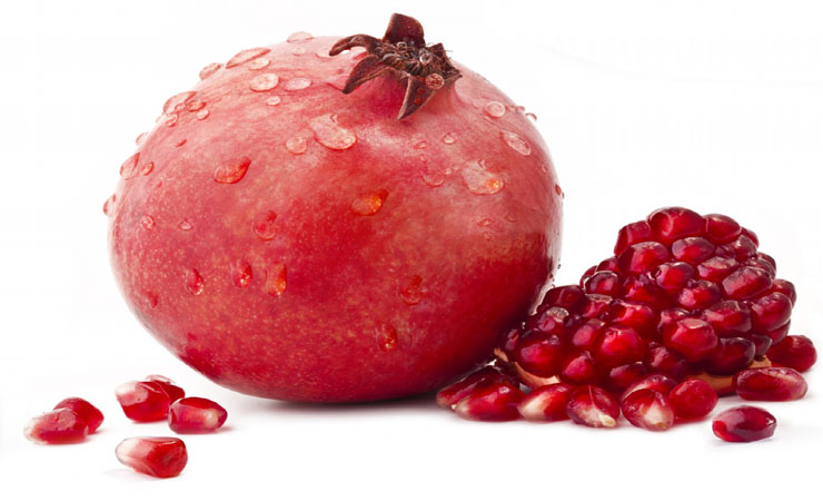 pomegranate...