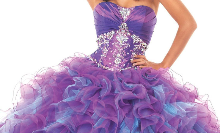 Simple Exquisite Sweetheart Light Purple Quinceanera Dress