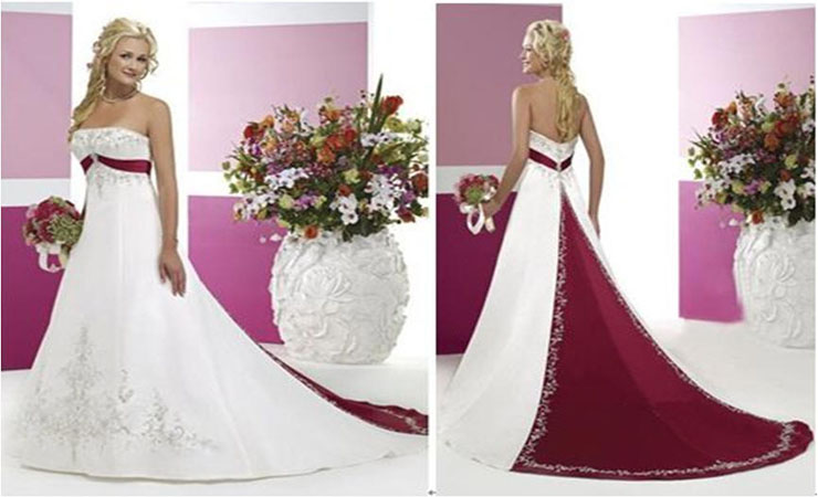 Strapless Sweetheart Plus Size Wedding Dress with Intricate Accents