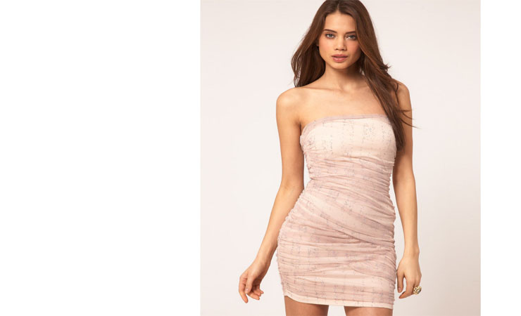 Short A-Line Spaghetti Strap Pink Homecoming Dress